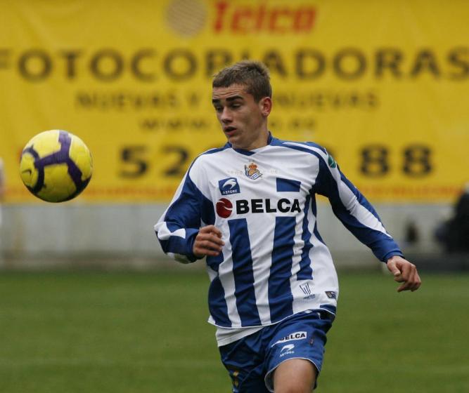 جريزمان مع ريال سوسيداد الأسباني