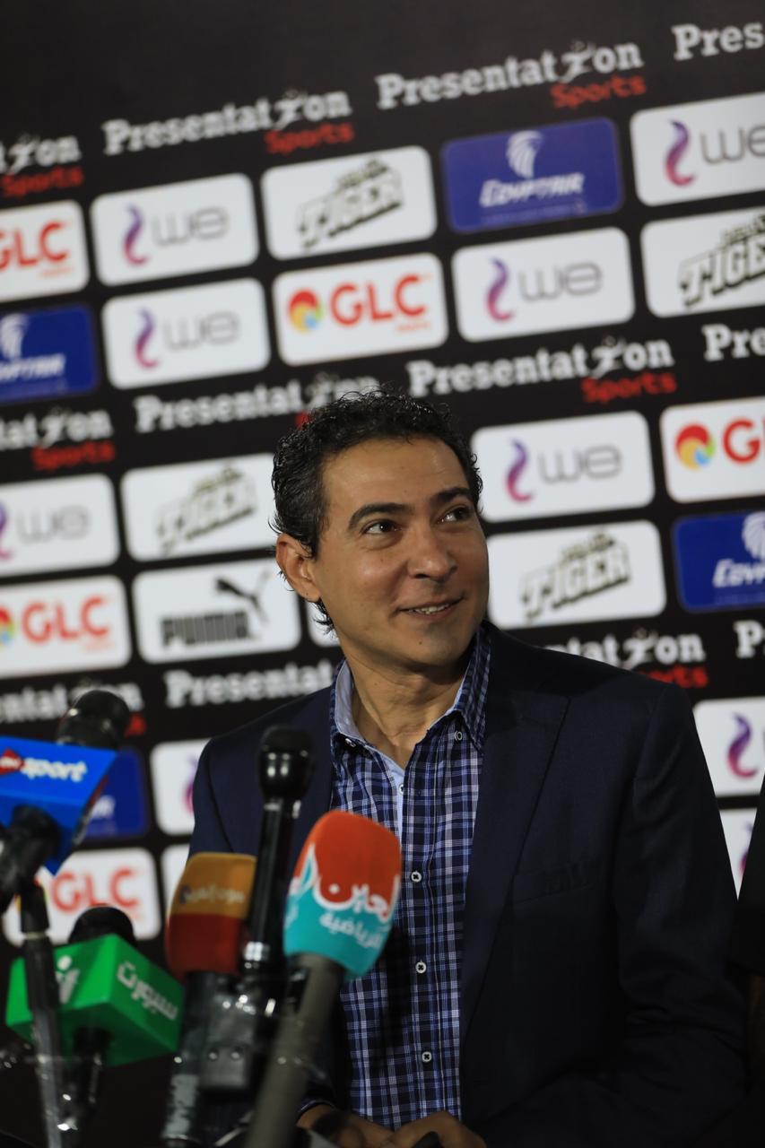 مشاهد من المؤتمر الصحفى لمدير منتخب مصر محمد بركات (11)