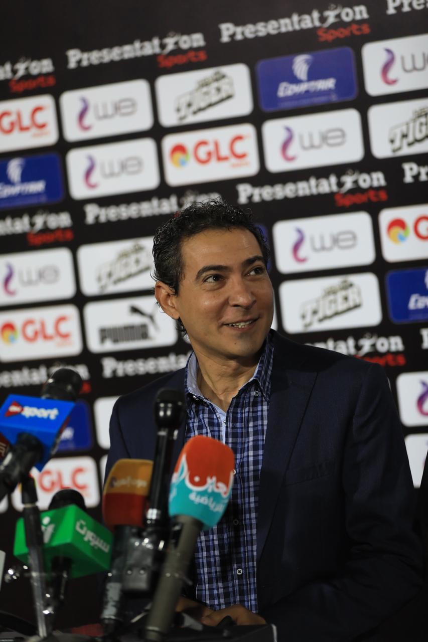 مشاهد من المؤتمر الصحفى لمدير منتخب مصر محمد بركات (13)