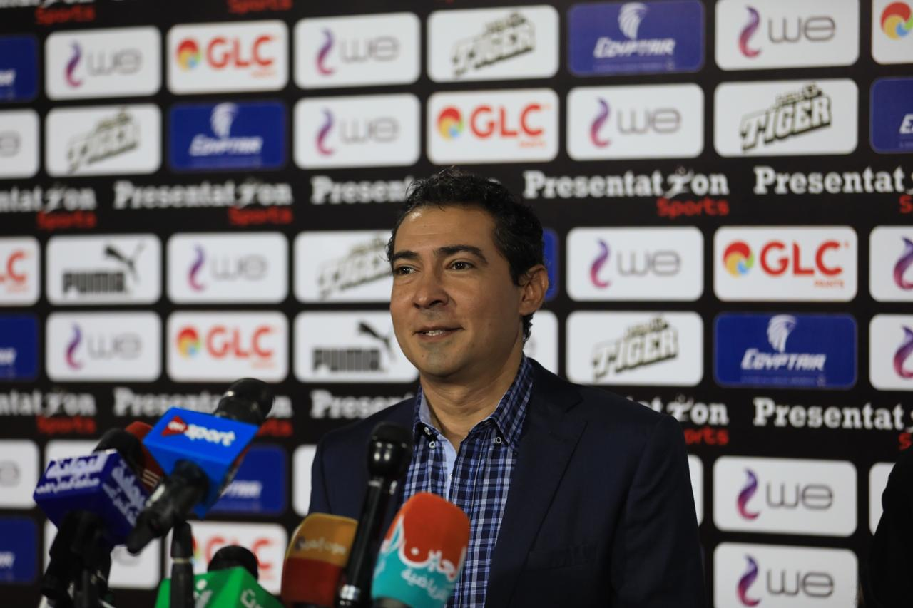 مشاهد من المؤتمر الصحفى لمدير منتخب مصر محمد بركات (2)