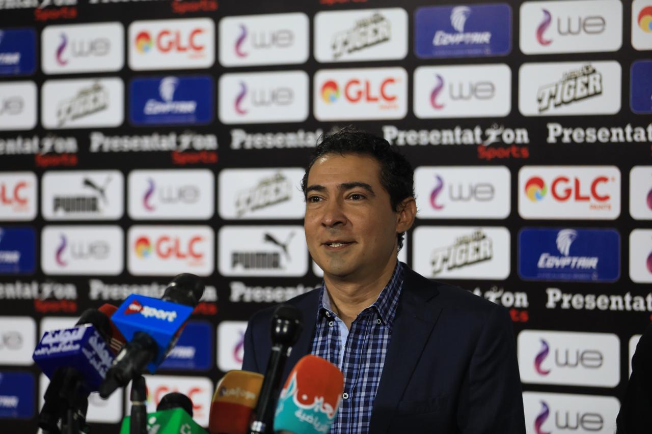 مشاهد من المؤتمر الصحفى لمدير منتخب مصر محمد بركات (7)
