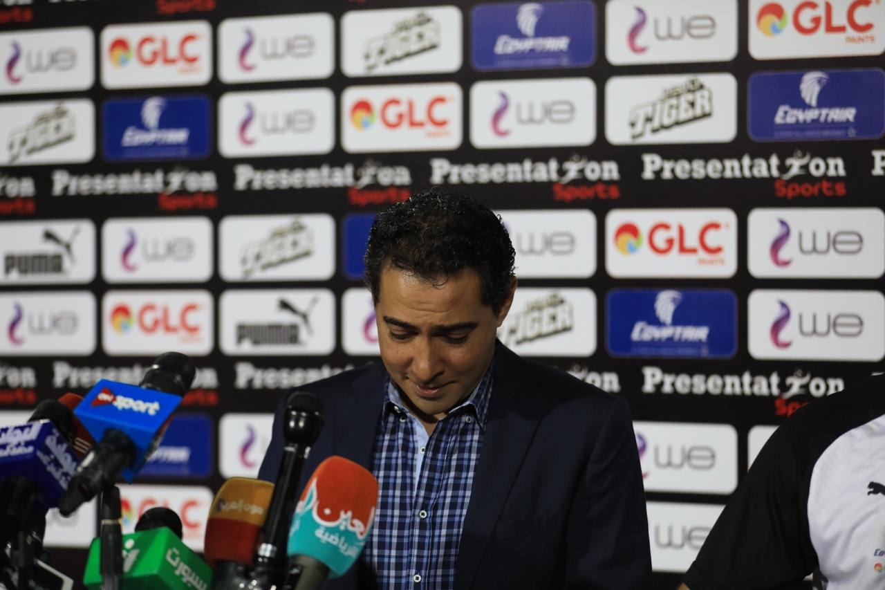 مشاهد من المؤتمر الصحفى لمدير منتخب مصر محمد بركات (9)