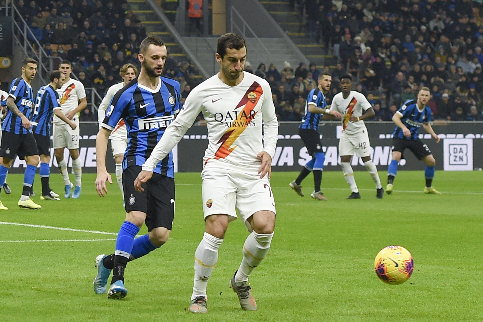 الانتر ضد روما (10)