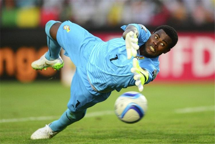رزاق برايماه حارس مرمى غانا ولاعب قرطبة الإسباني