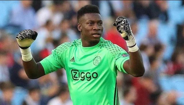 أندريه أونانا حارس منتخب الكاميرون ولاعب أياكس الهولندى