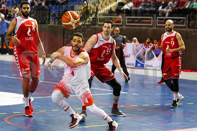 الأهلى والزمالك فى كرة السلة (19)