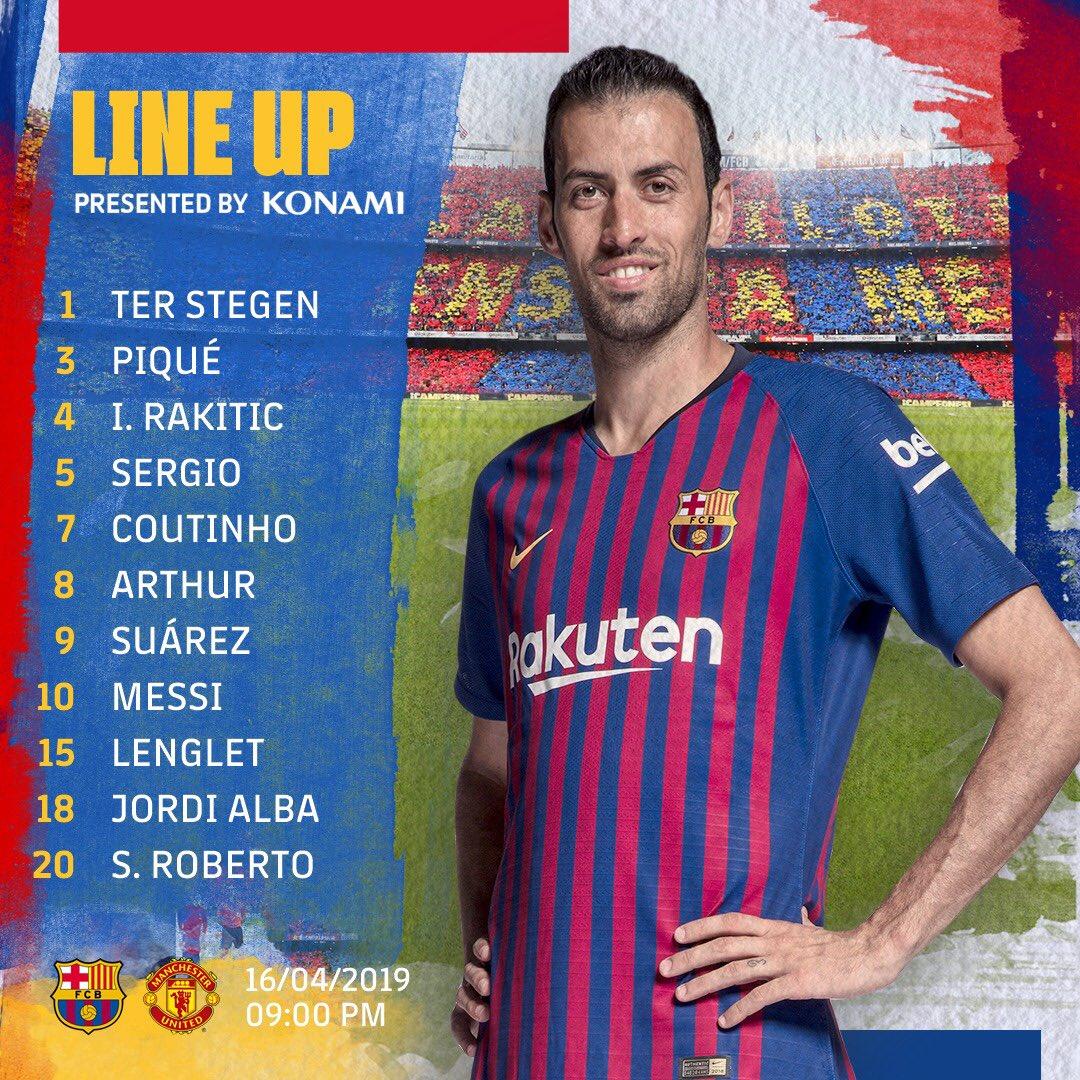 تشكيل برشلونة