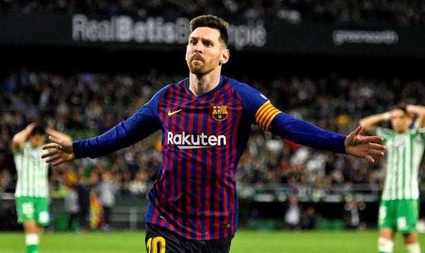 ميسي قائد برشلونة