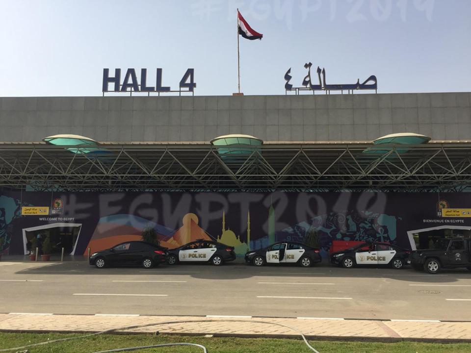 مطار القاهرة والكان
