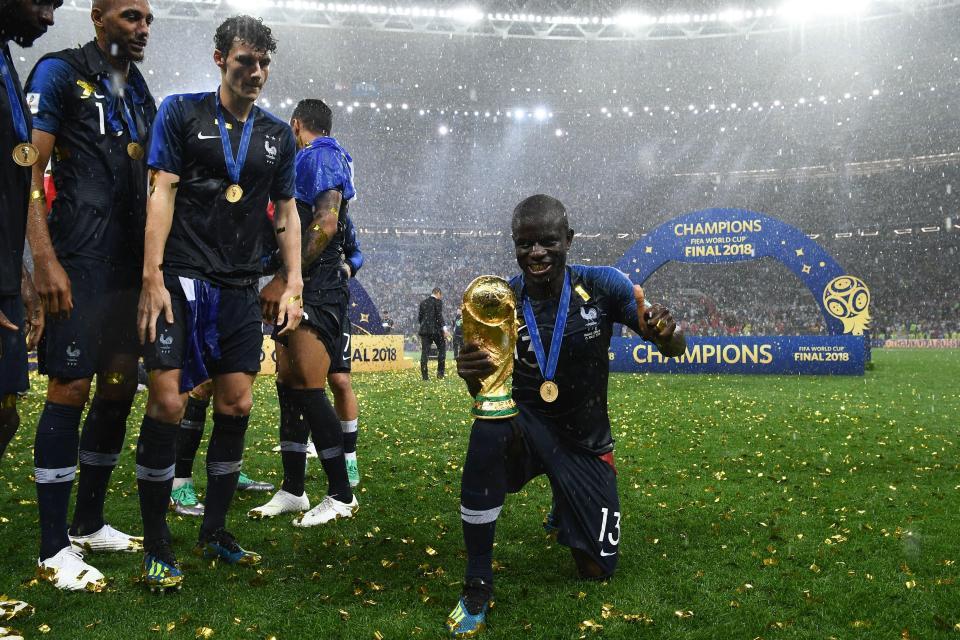 مع منتخب فرنسا
