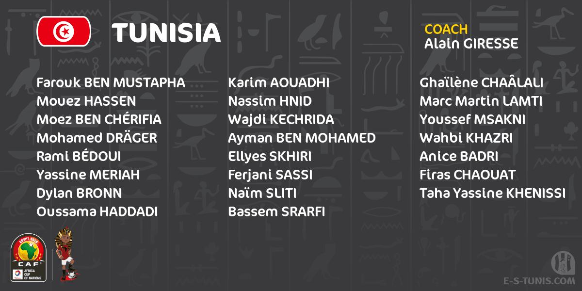 قائمة تونس
