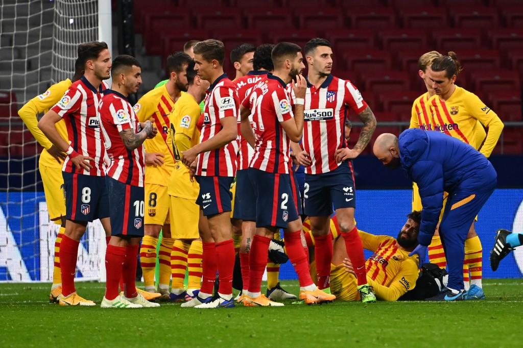 أتلتيكو مدريد ضد برشلونة (1)