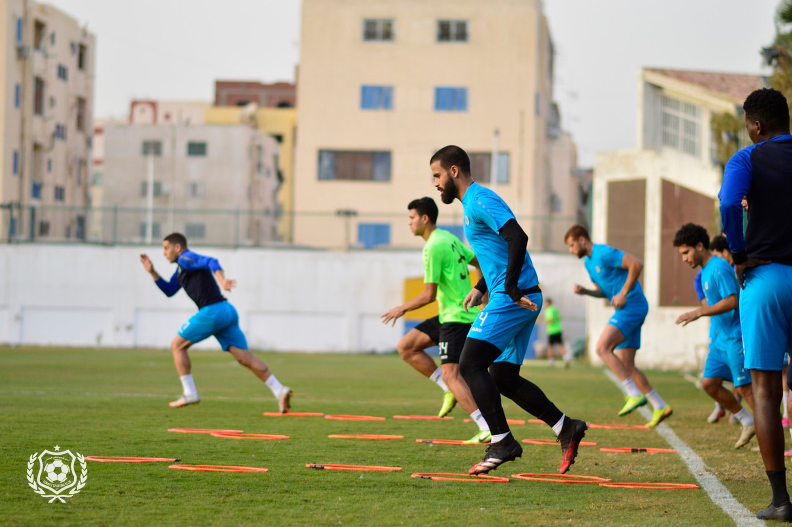 صبحي والصحراوي يشاركان في تدريبات الإسماعيلي.. مشاهد من المران (6)