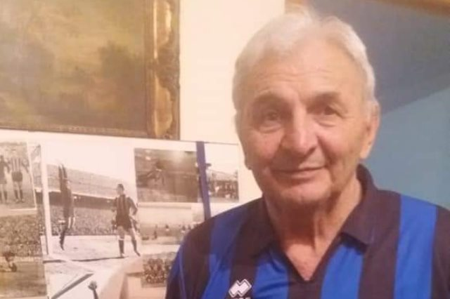 زكريا كوميتى لاعب إيطالى سابق 83 عاما