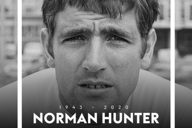 نورمان هانتر لاعب كرة أنجليزى سابق 76 عاما