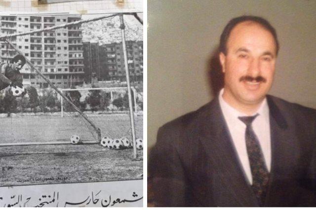 جوزيف شمعون لاعب كرة سورى سابق 64 عاما