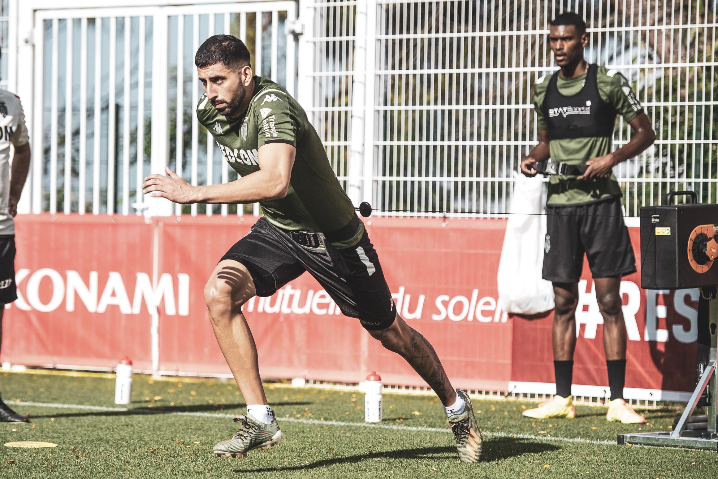 موناكو يعود للتدريبات أكثر قوة وحماس استعداد للدوري الفرنسي (2)
