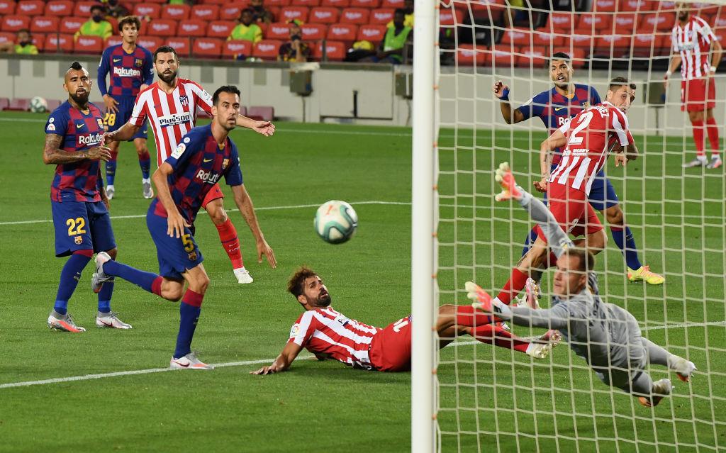 برشلونة ضد أتلتيكو مدريد (9)