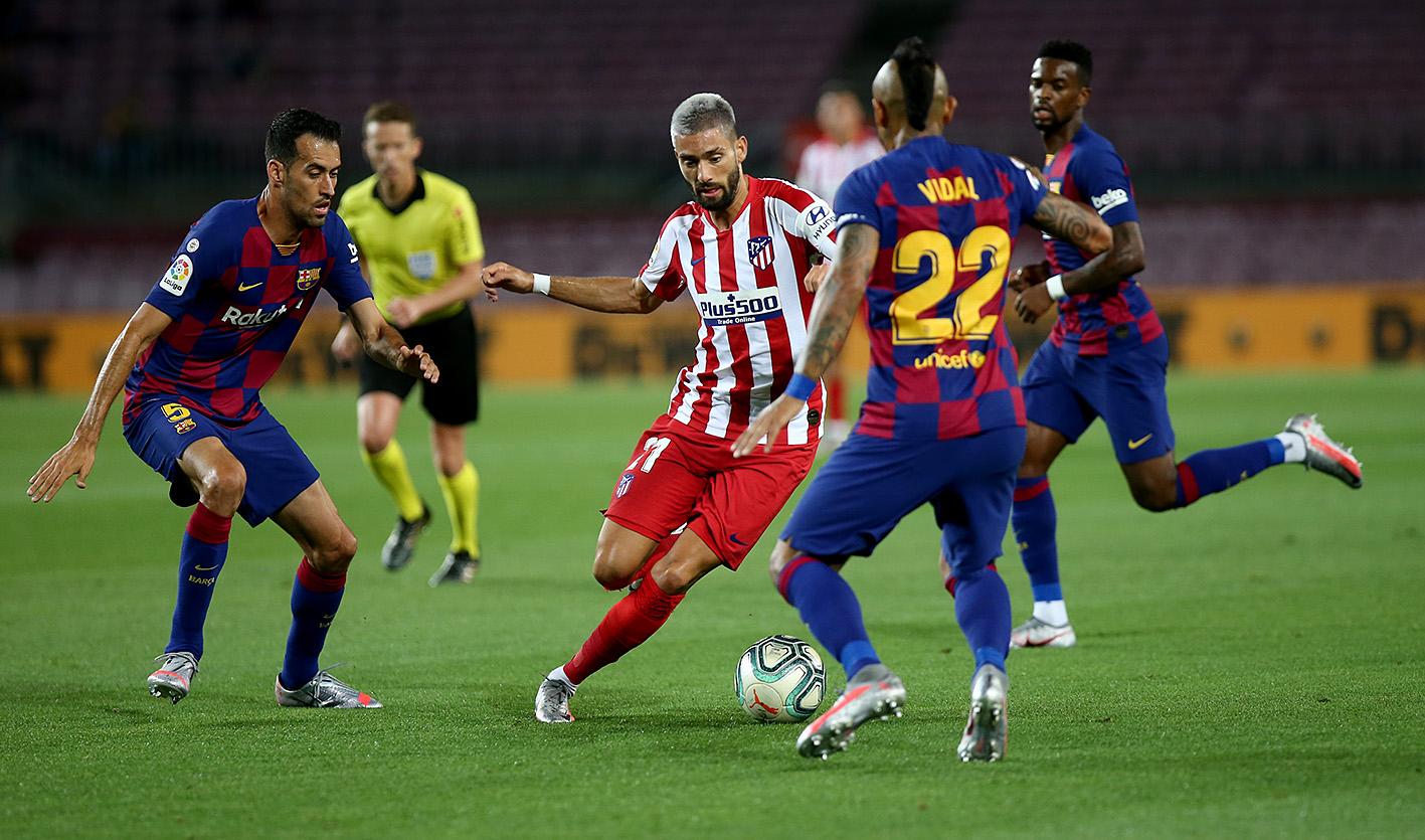 برشلونة ضد أتلتيكو مدريد (8)