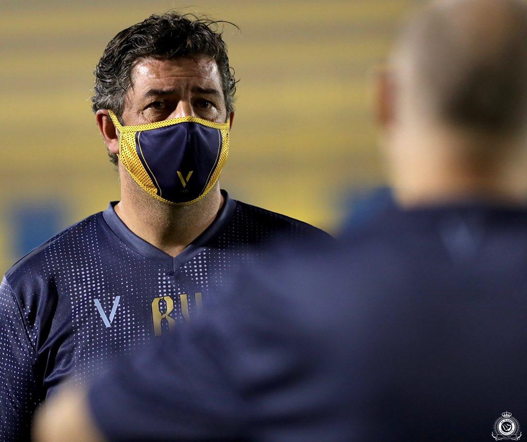 كواليس تدريبات النصر السعودي استعداد لعودة الدوري (1)