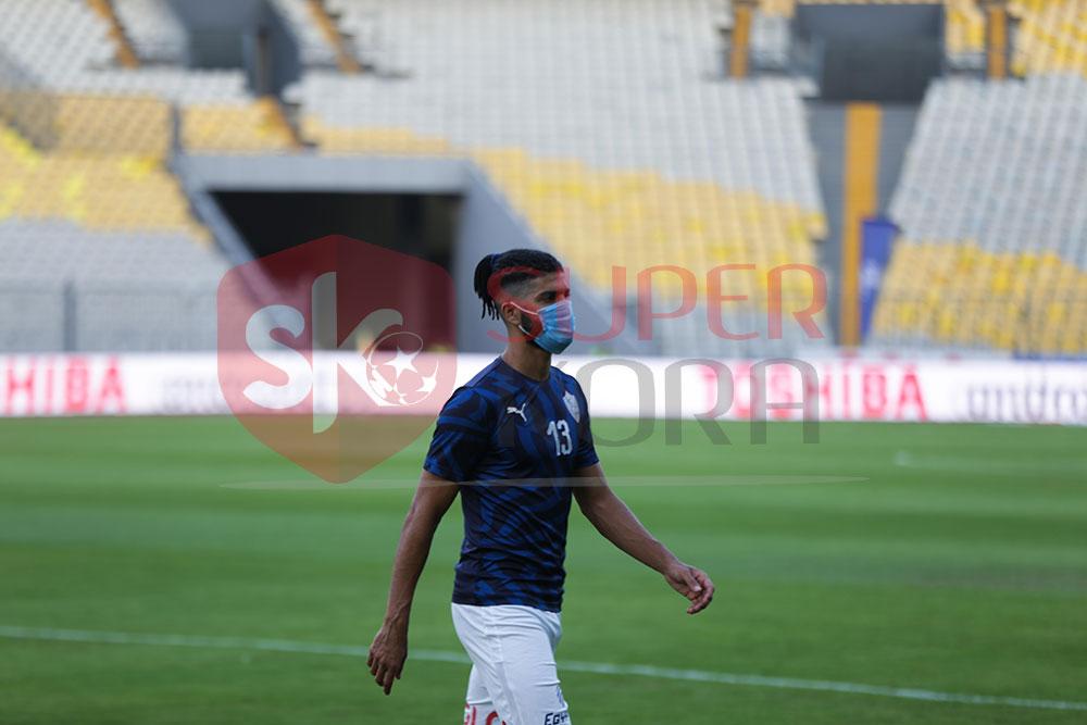 الزمالك ضد المصرى.. لاعبو الأبيض فى ملعب برج العرب (3)