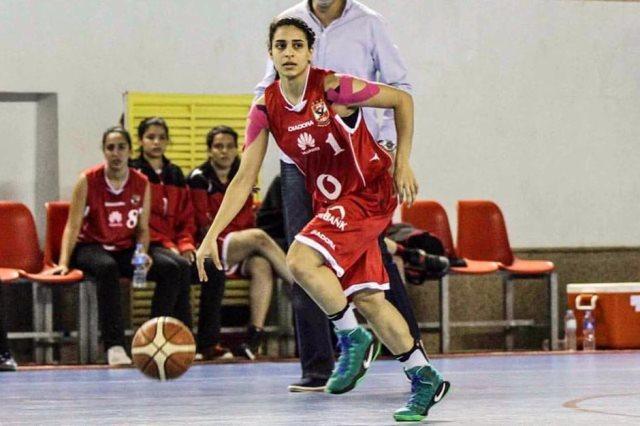 ريم موسي لاعبة كرة السلة بالأهلى