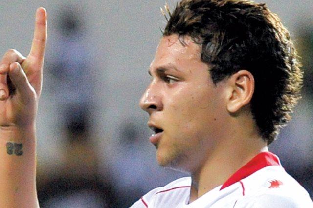 يوسف المساكنى نجم الدحيل القطري و المنتخب التونسي