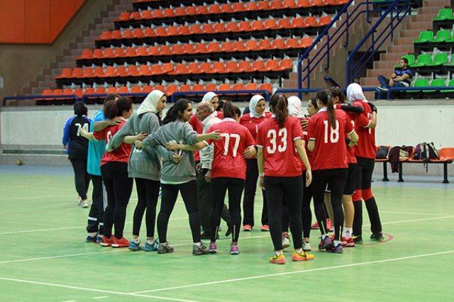 فريق سيدات كرة اليد بالنادي الاهلي