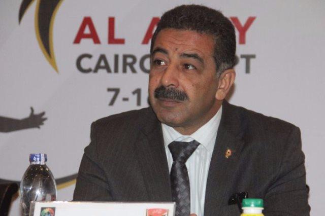 رئيس الاتحاد المصري للسلة