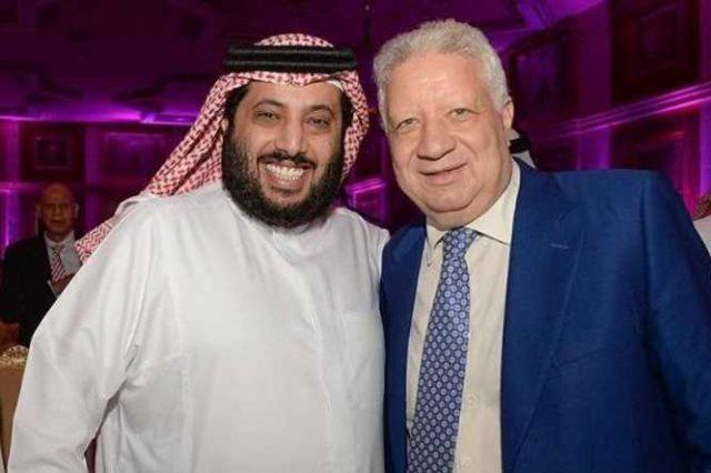 مرتضى وتركى آل الشيخ