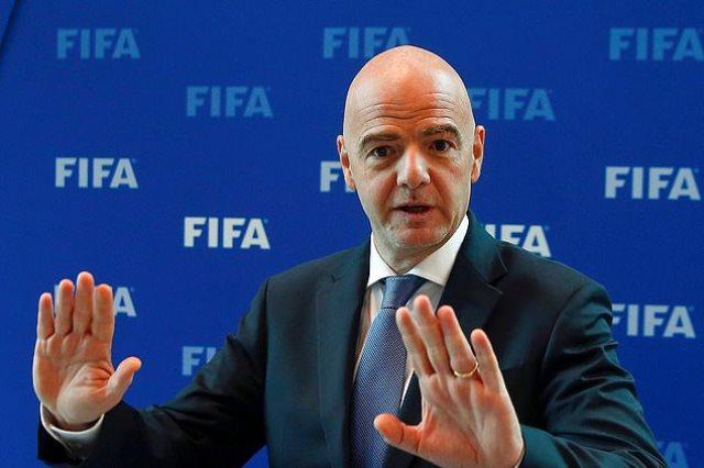 انفانتينو رئيس الاتحاد الدولى لكرة القدم