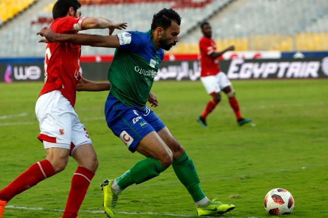أحمد مودي مدافع نادي مصر المقاصة
