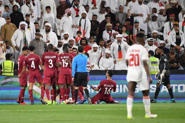 قطر تفوز على الإمارات