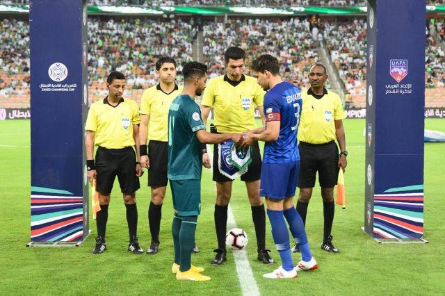 جهاد جريشة مع قائدى الفريقين