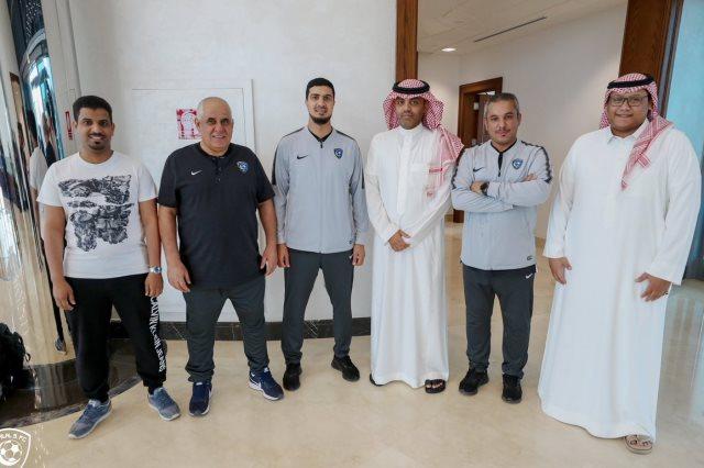 بعثة الهلال السعودي فى ابو ظبى