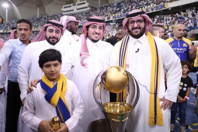 سعود آل سويلم رئيس نادى النصر