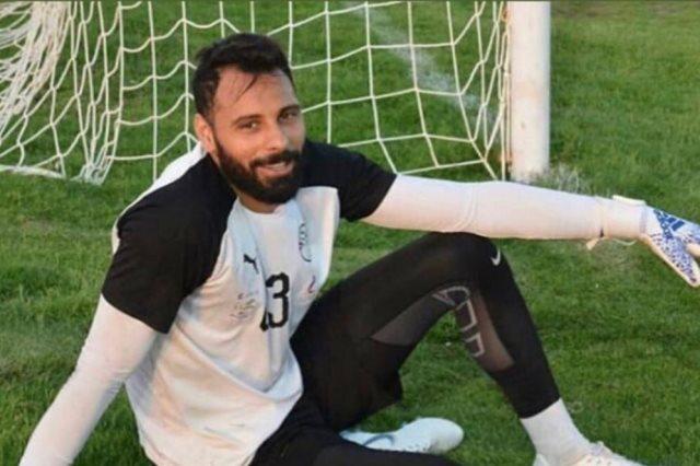 الحارس محمود عبد الرحيم جنش