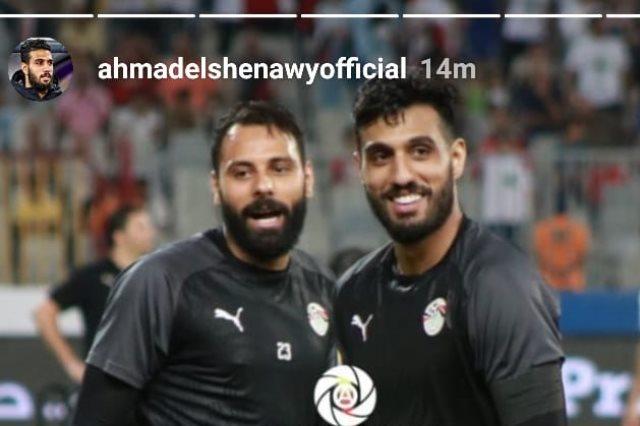 أحمد الشناوي وجنش