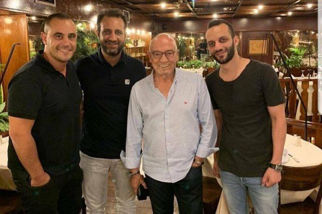 البرتغالي فيريرا مع أحمد وأمير مرتضي