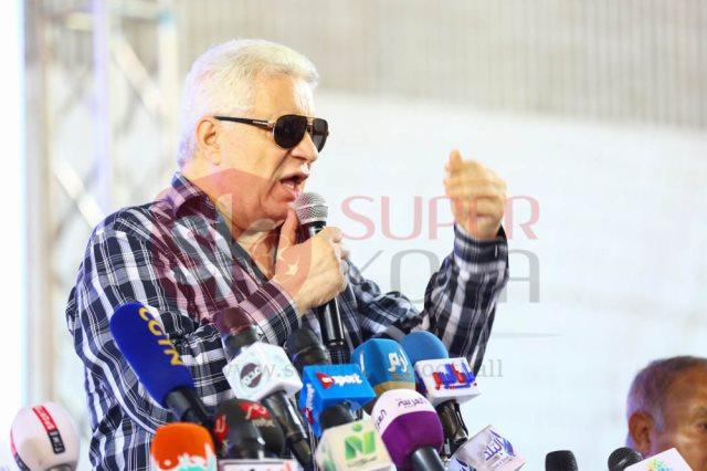مرتضى منصور يحذر عضو مجلس إدارة الأهلي من الزج بإسم الزمالك