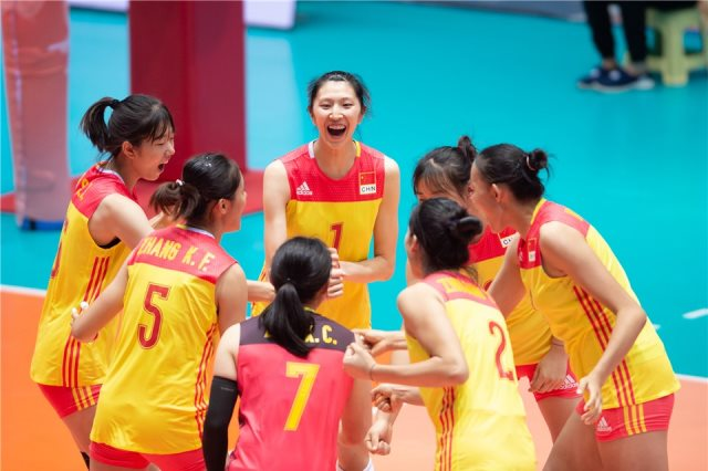 ناشئات الكرة الطائرةمنتخب الصين