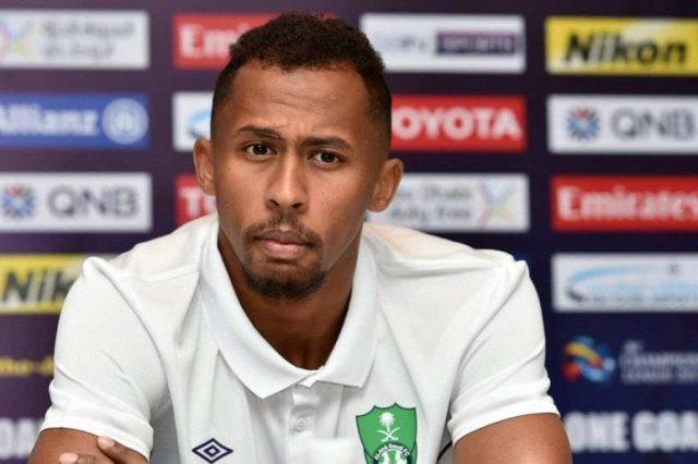 سعيد المولد مدافع الأهلي السعودي
