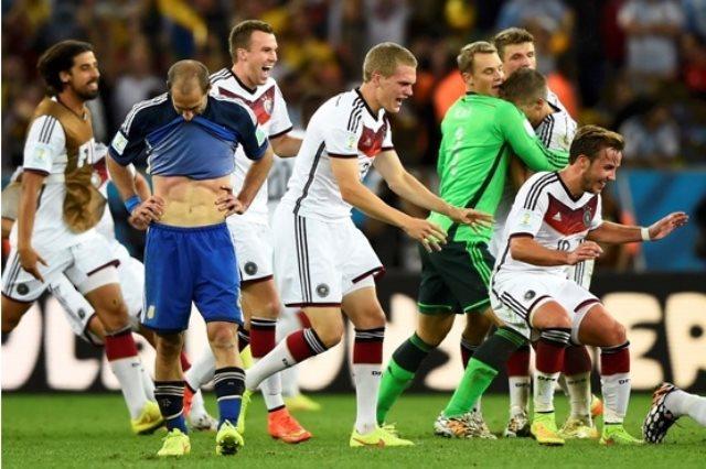 المانيا والأرجنتين