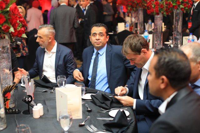 فايلر ومعاونيه يحضرون احتفالية تسليم درع الدوري المصري