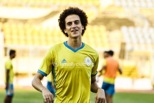 اصابة لاعب الاسماعيلي محمد صادق قبل مباراة مصر الودية