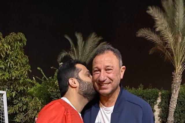 زيارة تركى ال الشيخ للخطيب