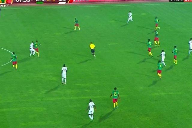 غانا ضد الكاميرون
