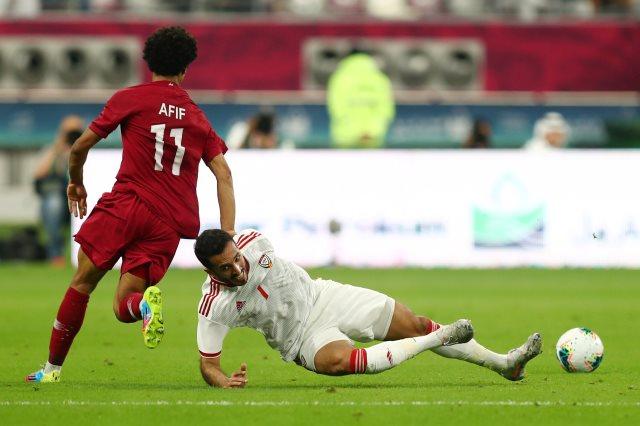 مباراة قطر والإمارات