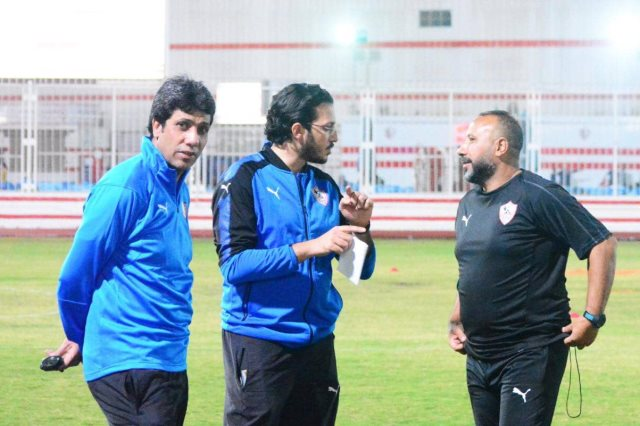 الزمالك ضد الشرقية.. سامي الشيشيني يطالب اللاعبين باستعادة التوازن
