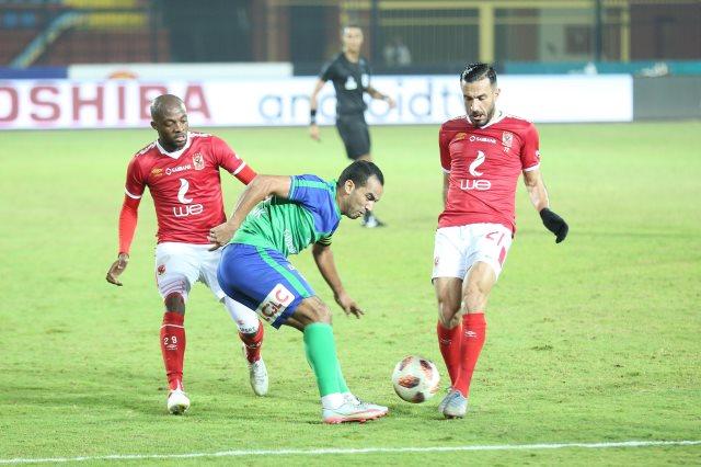 تاريخ مواجهات الأهلي ضد مصر المقاصة في الدوري المصري